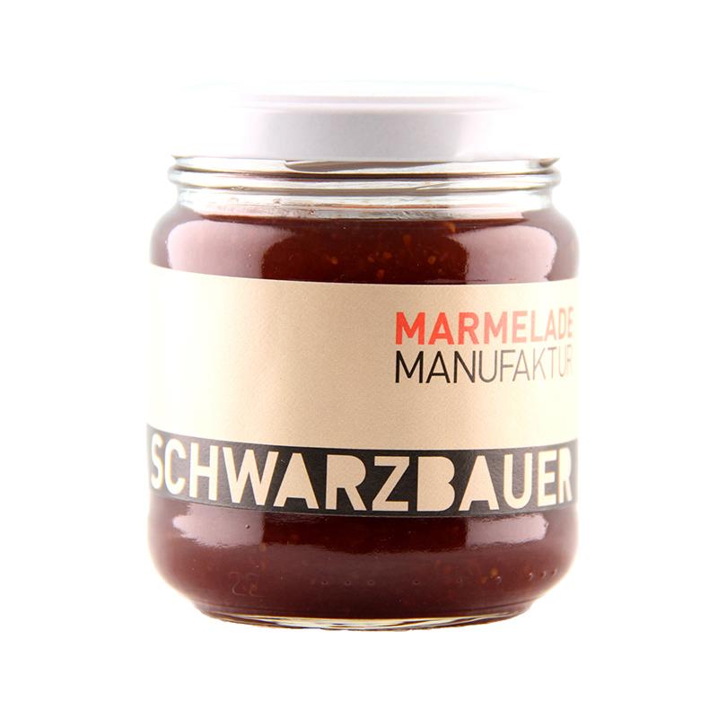 Feige mit Rotwein Fruchtaufstrich von der Marmeladen Manufaktur Schwarzbauer