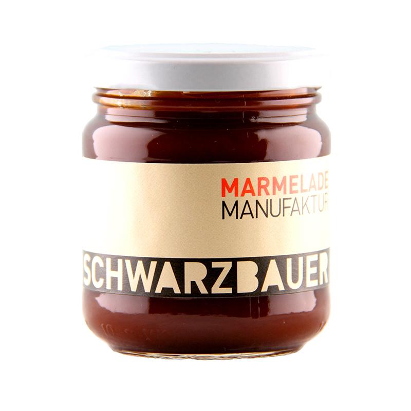 Hagebutte Fruchtaufstrich von der Marmeladen Manufaktur Schwarzbauer