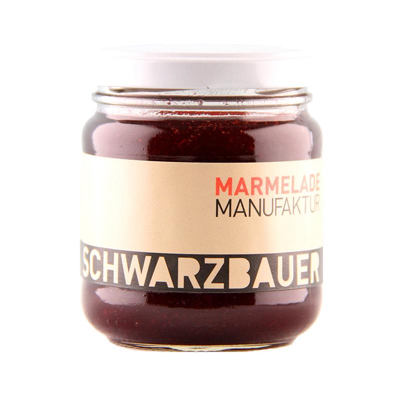 Kirsche Fruchtaufstrich von der Marmeladen Manufaktur Schwarzbauer