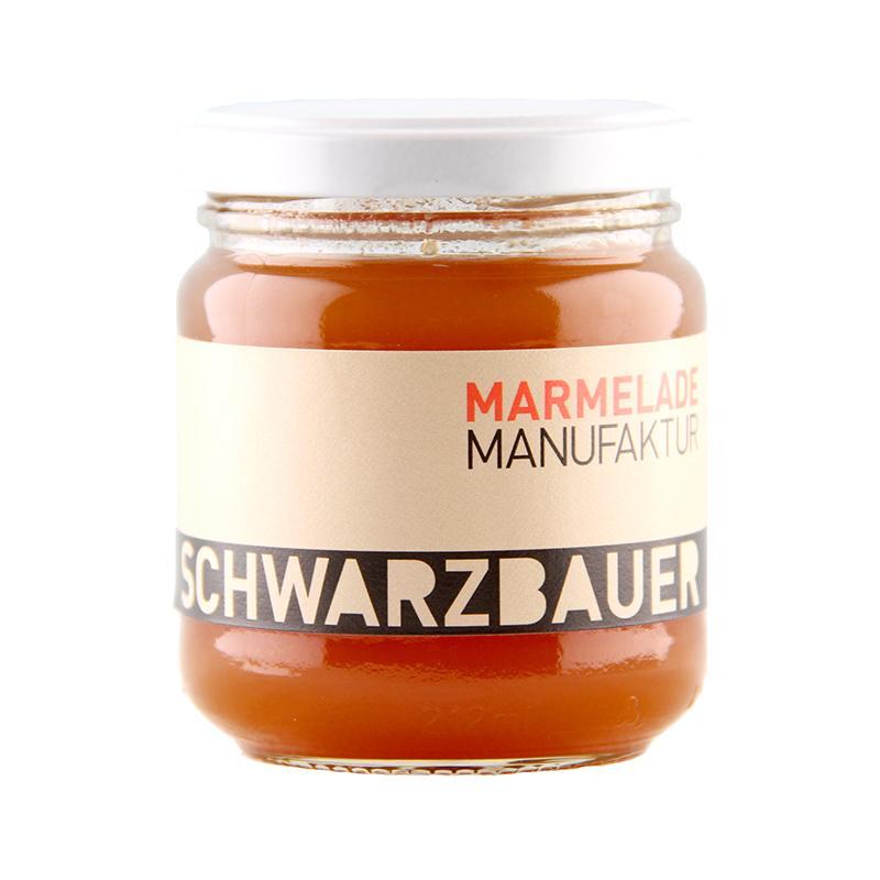 Kürbis mit Apfel Fruchtaufstrich von der Marmeladen Manufaktur Schwarzbauer