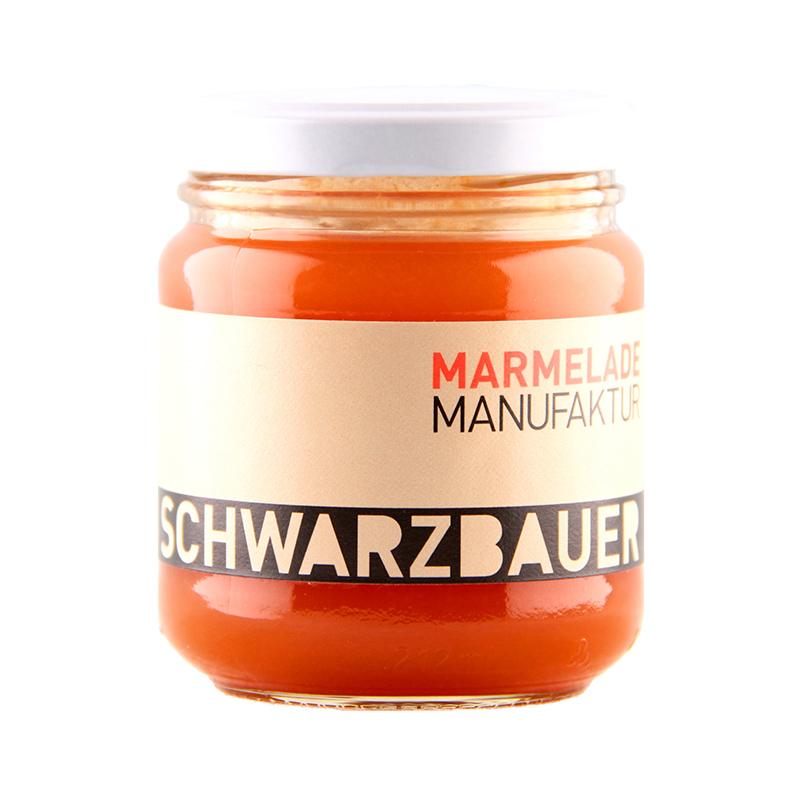 Kürbis mit Grappa Fruchtaufstrich von der Marmeladen Manufaktur Schwarzbauer