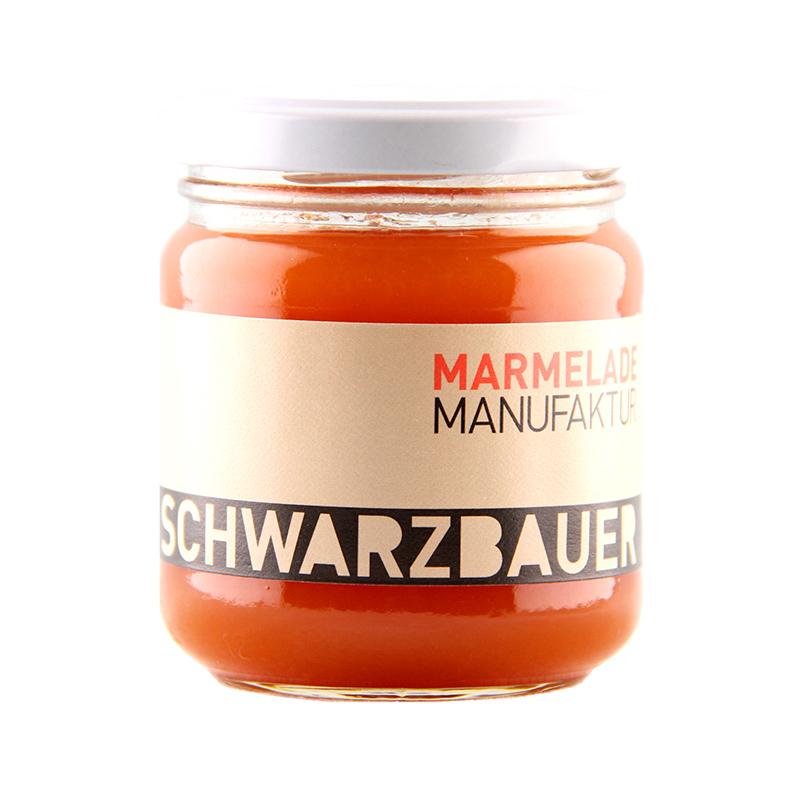 Kürbis mit Ingwer Fruchtaufstrich von der Marmeladen Manufaktur Schwarzbauer
