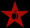 Stern mit Aprikose