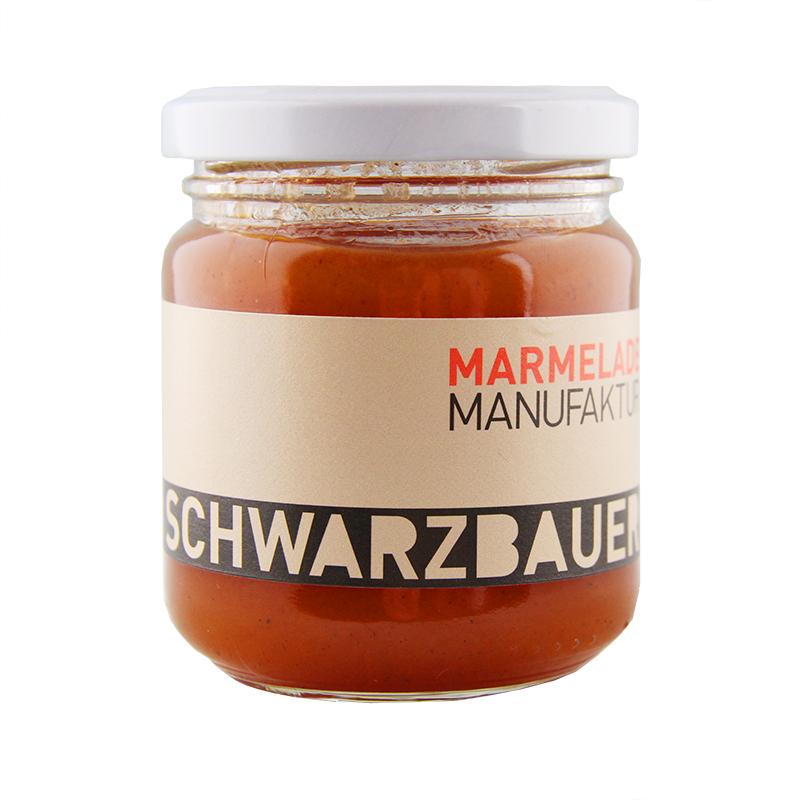 Noel Fruchtaufstrich von der Marmeladen Manufaktur Schwarzbauer