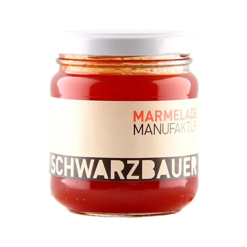 Paprika mit Chili Gemüseaufstrich von der Marmeladen Manufaktur Schwarzbauer