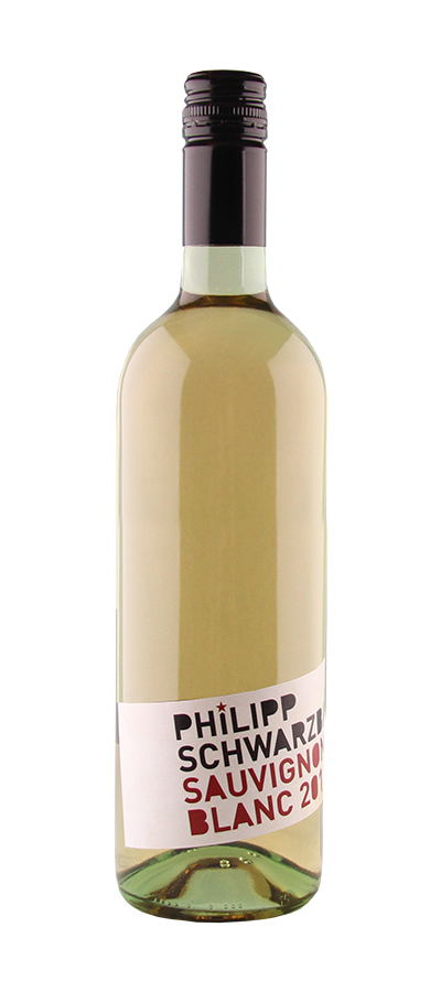 Weinflasche Sauvignon Blanc vom Weingut Schwarzbauer