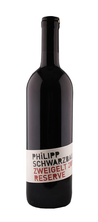 Weinflasche Zweigelt Reserve vom Weingut Schwarzbauer
